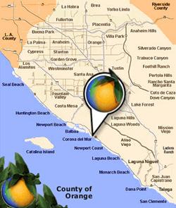 Del Mar California Map Corona Del Mar, California   Information and Community Guide