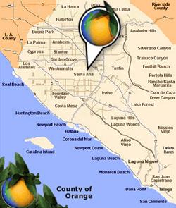 Santa Ana, CA on stockton california map, garden grove california map, grossmont california map, woodland hills california map, orange county, disneyland california map, anaheim california map, orange county california map, dana point, mission viejo, san bernardo california map, john wayne airport, palm springs california map, newport beach, hesperia california map, dana point california map, duarte california map, santa monica, san diego california map, san bernardino, santa barbara, stevinson california map, santa rosa, merced california map, lexington california map, long beach, valencia california map, san jose california map, loyalton california map, mission santa barbara california map, garden grove, huntington beach,