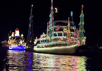 The Newport Beach Boat Parade Is Premier Christmas Event Not Only For Orange County And Los Angeles But Southern California